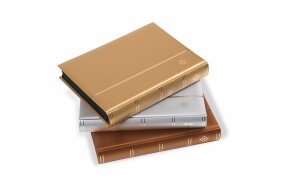 STOCKBOOK COMFORT A4 64 BLACK PAGES